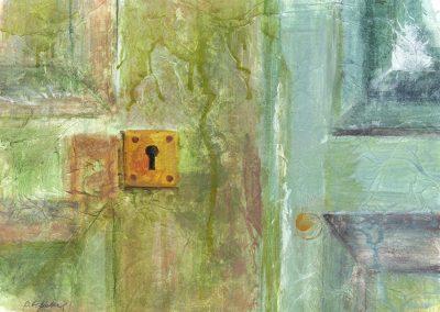 Old Door Key Hole